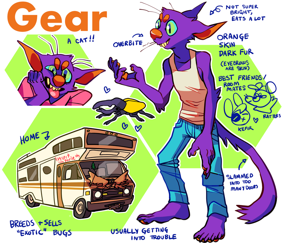 GEAR by goatpox