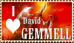 David Gemmell stamp by Nefermeritaset