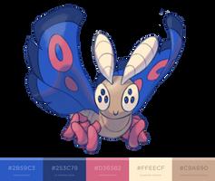Candy-Coated Dustox by Kadew-C