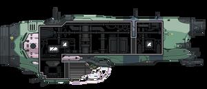 Soma Corvette (Starbound)