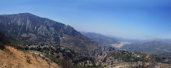 landscape on Crete