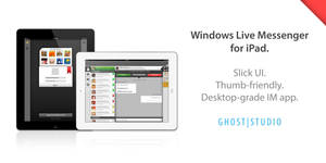 Windows Live Messenger for iPad - Concept