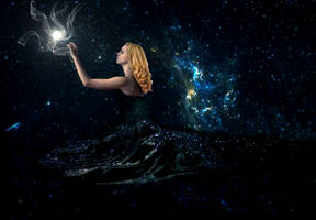 Mother of Galaxies by Kassih