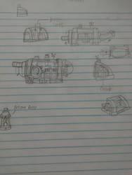 Krab Driver concepts by phoenixcooper
