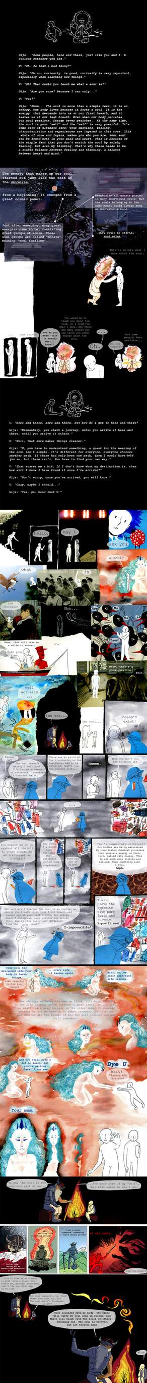 U and the soul  pg. 7-12 by PurpleWarroir