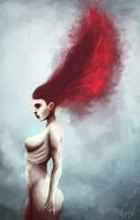 Red by SwedeyArt