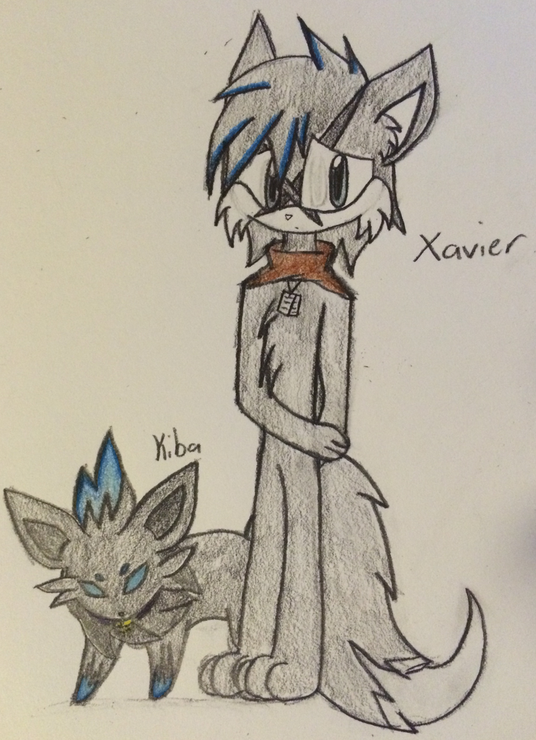 ~Xavier and Kiba~ by ChibiChibiWoofWoof