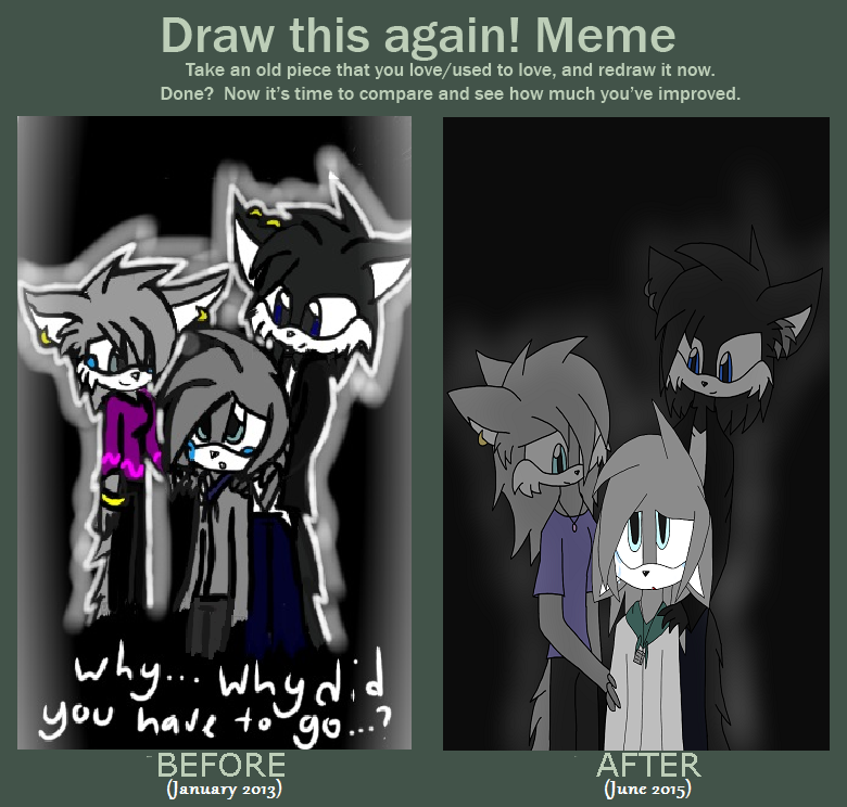 ~Draw This Again~ Meme by ChibiChibiWoofWoof