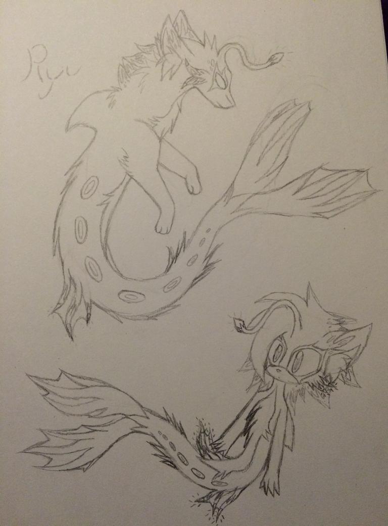 ~Ryu The Deep Sea Merhog~ by ChibiChibiWoofWoof