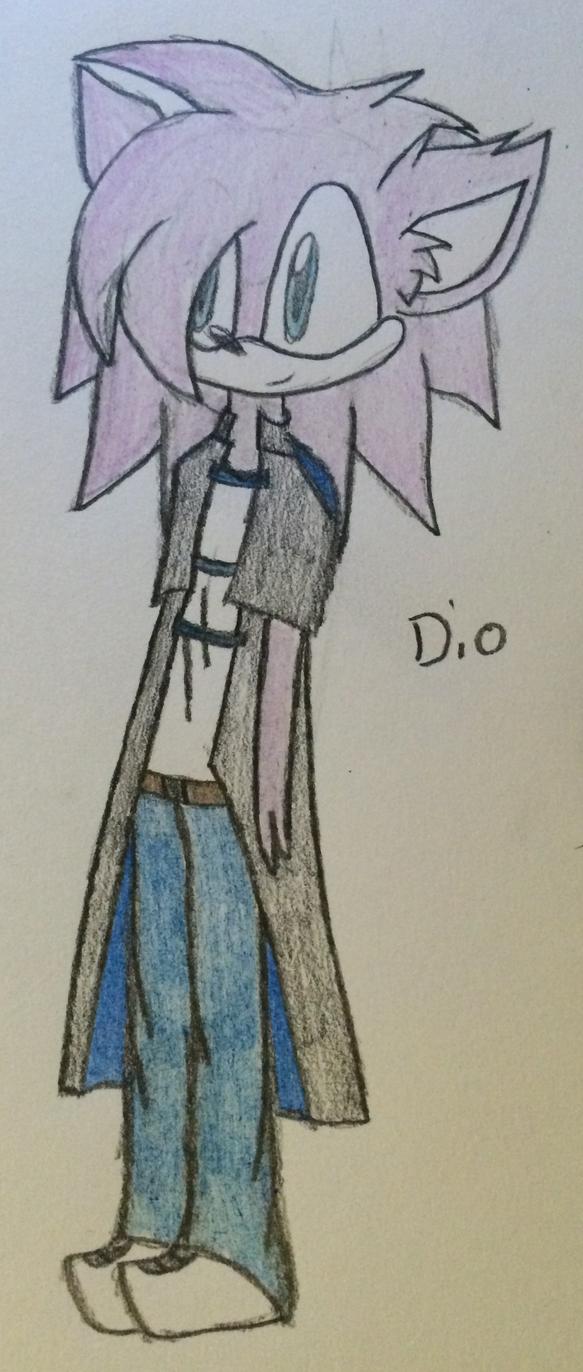 ~Dio the Hedgehog~ by ChibiChibiWoofWoof