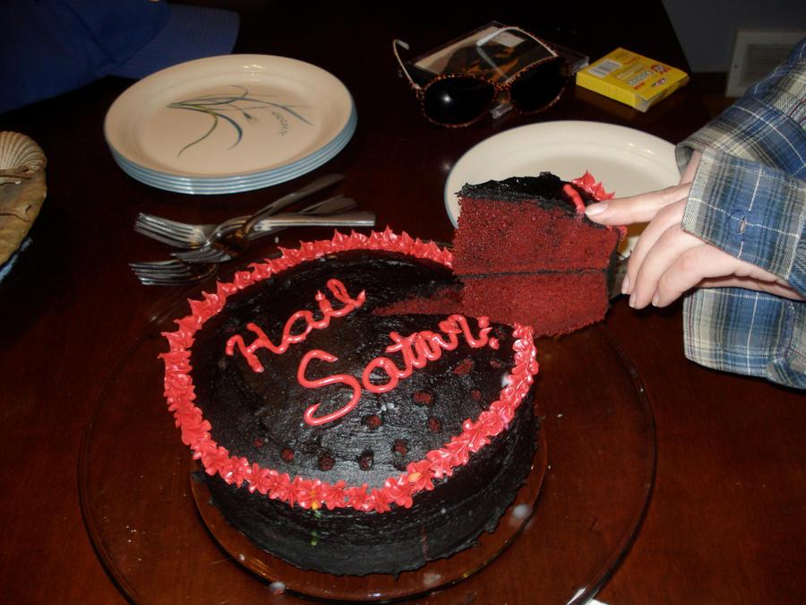 Birthday Cake Pentagram