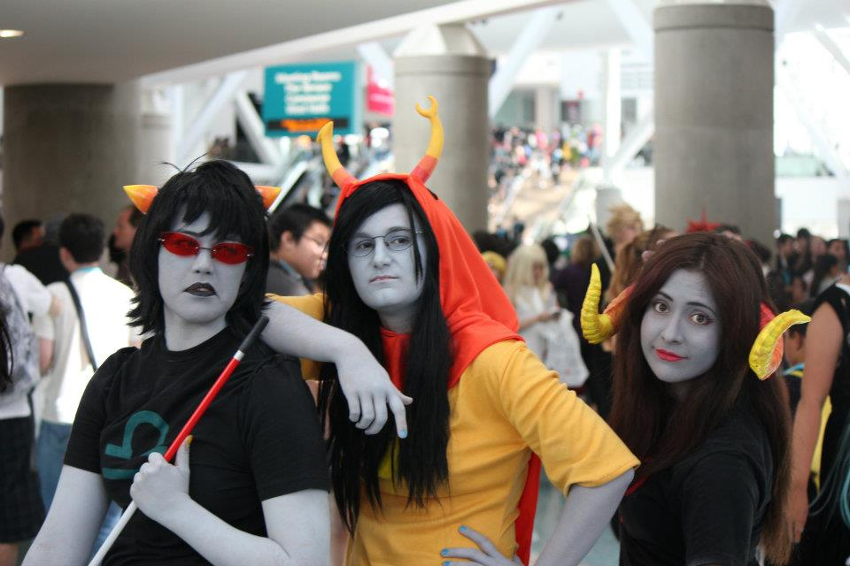 Anime Expo 2012 Day 1 Homestuck Group Pic By Zuruiko