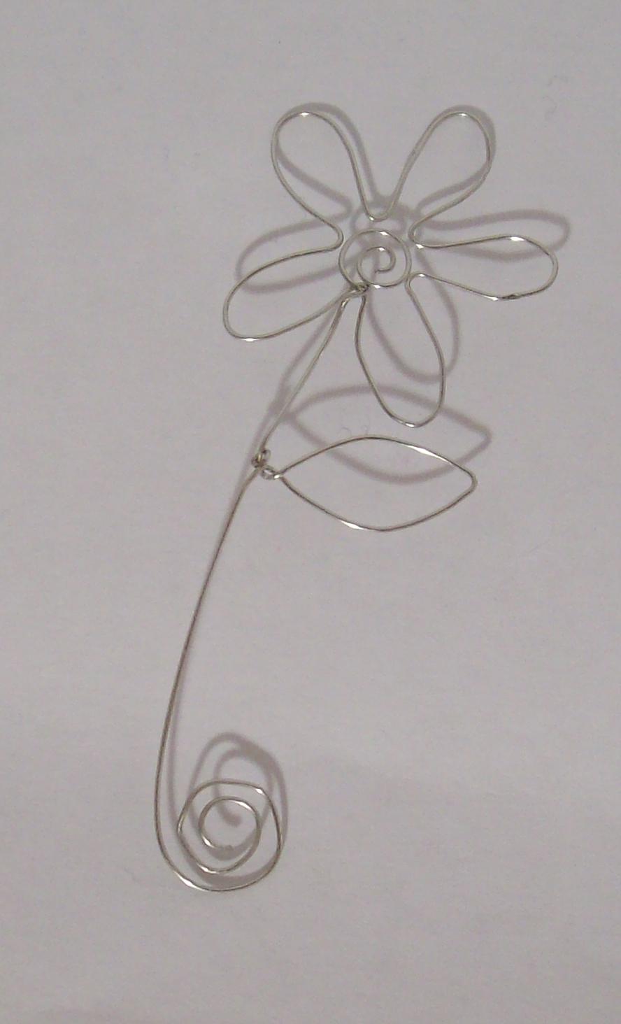 Wire Flower By Zaphod Beeblebroxie On DeviantArt