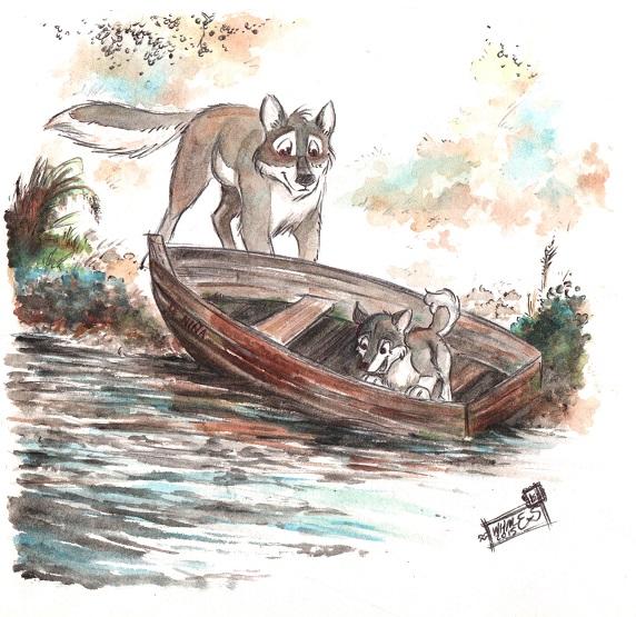 Aleu's boat by Aaronmcloud