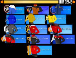 Uniforms by CaptainBarringer