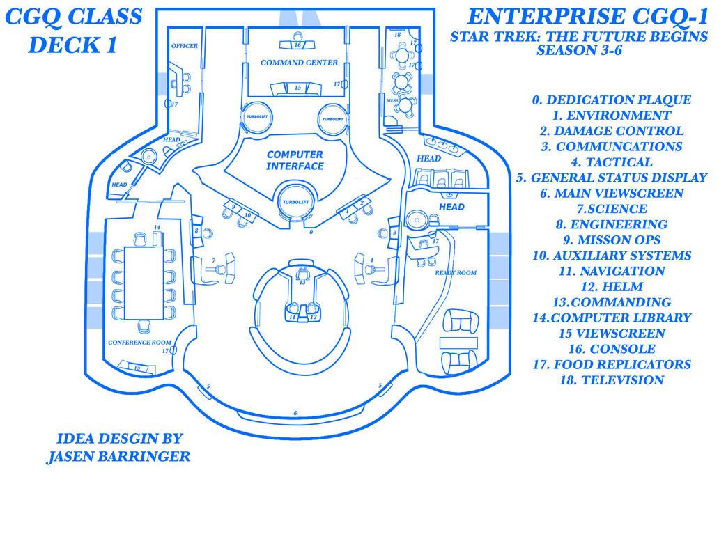 ENTERPRISE CGQ-1 by CaptainBarringer