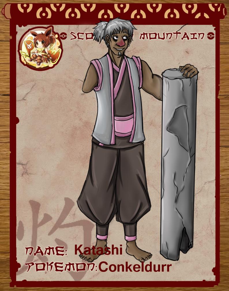 Pokimono App- Katashi by Emmygir
