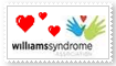 William Syndrome Stamp by Ineffable-Ferret