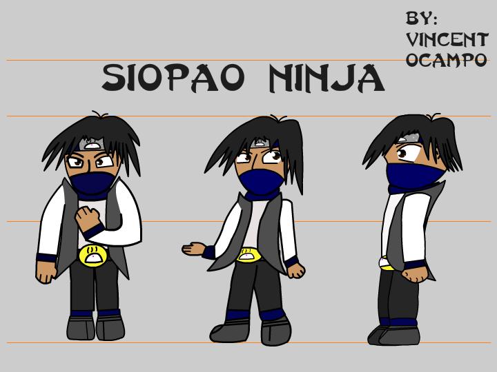 New and Improved Siopao Ninja by SiopaoNinja