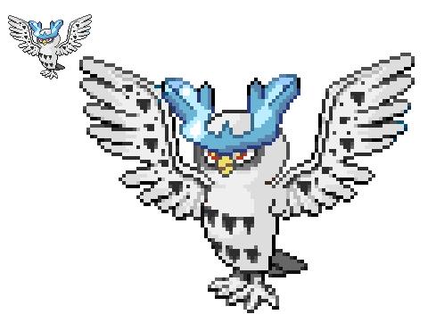 Snowy Owl Fusion by Artistimistic