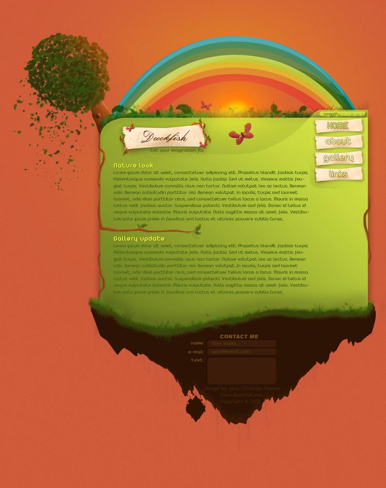 Playground webdesign by DucKfiX