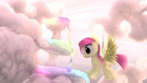 Rainbow Cloud Foutain