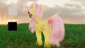 Fluttershy's Butt (Filmic Blender test)