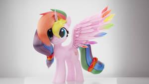 Rainbow Splash (Lalalover4everYT's OC)