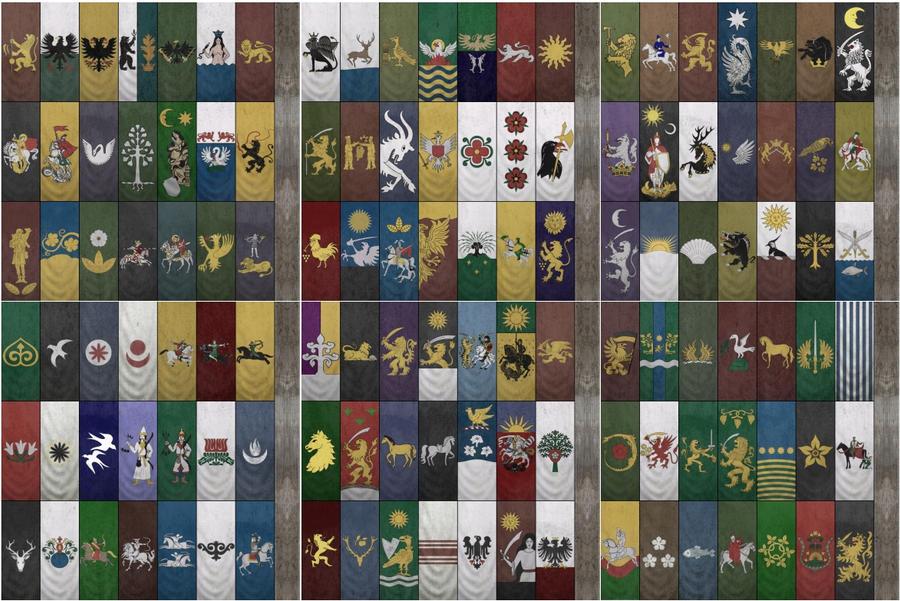Как сделать флаги в warband