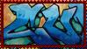 Graffiti Stamp by Sakuss