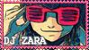 DJ ZARA stamp by Sakuss