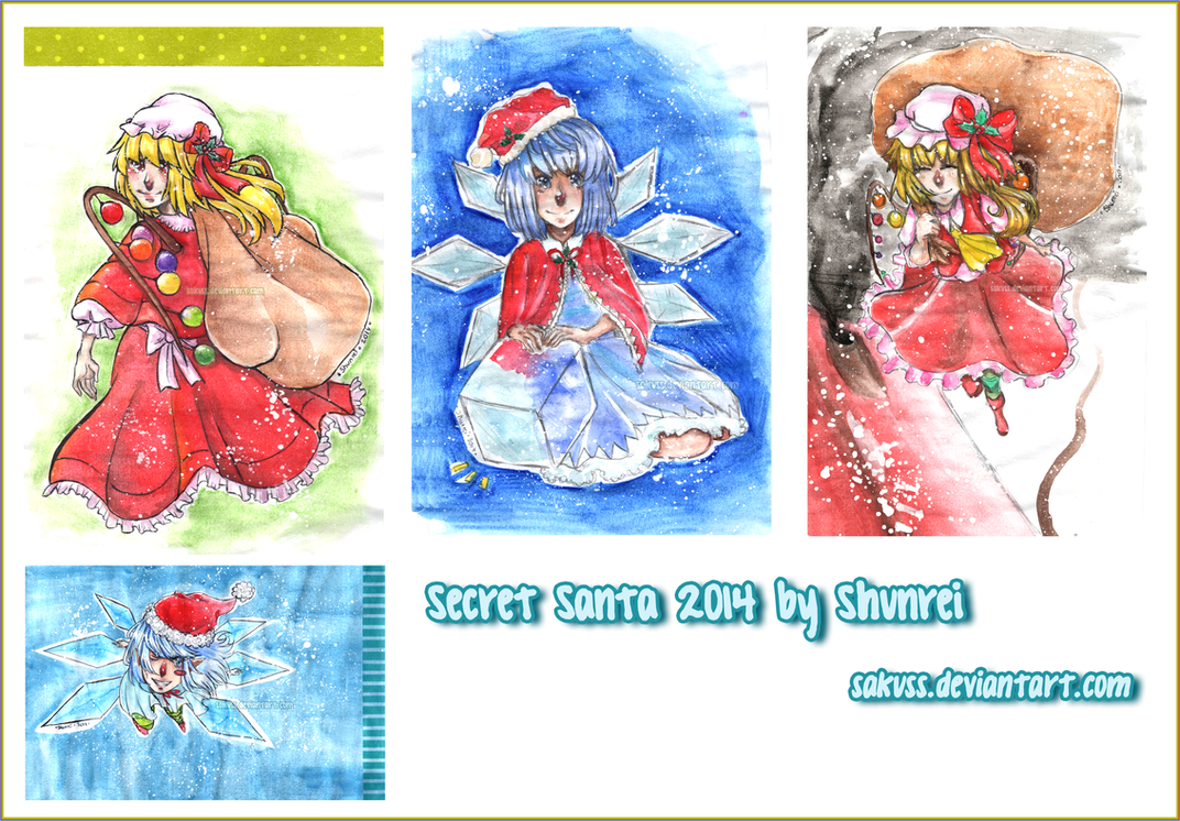 Secret Santa 2014 by Sakuss