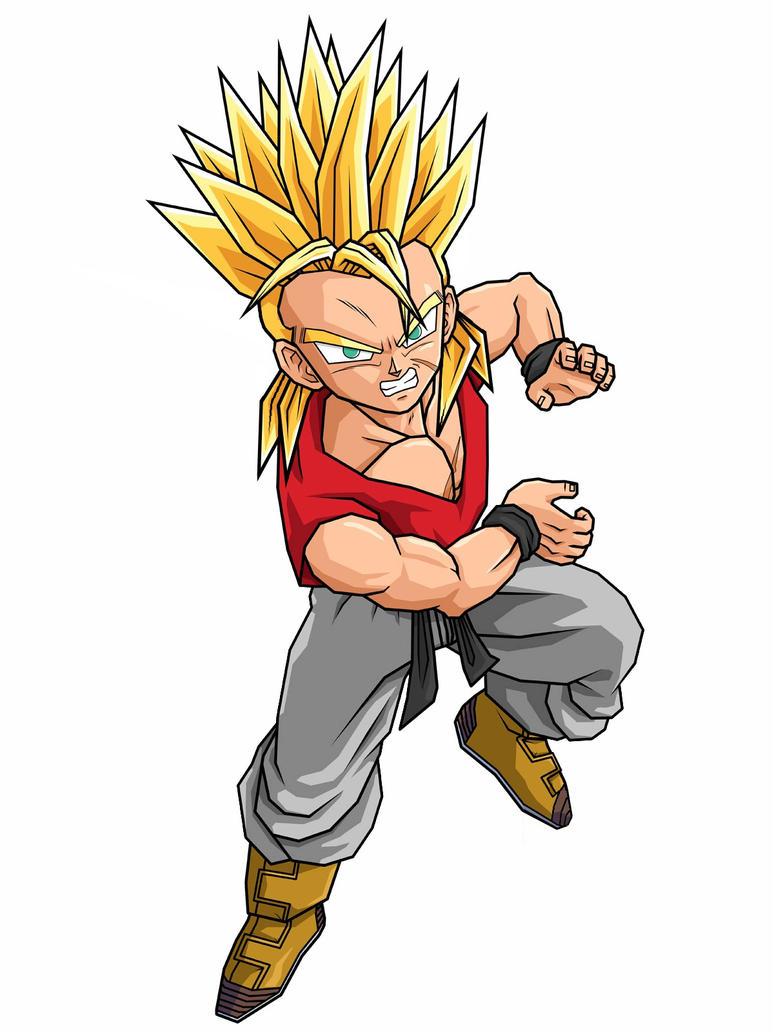 Super Saiyan Kid Kaiju by Saiyanime on DeviantArt