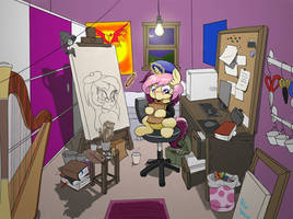 Midnight snacks (Lannie Lona Contest entry) by DoS-Draw