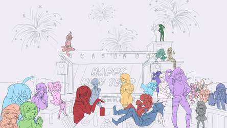 [Closed] Gemsona New Year Rooftop Party