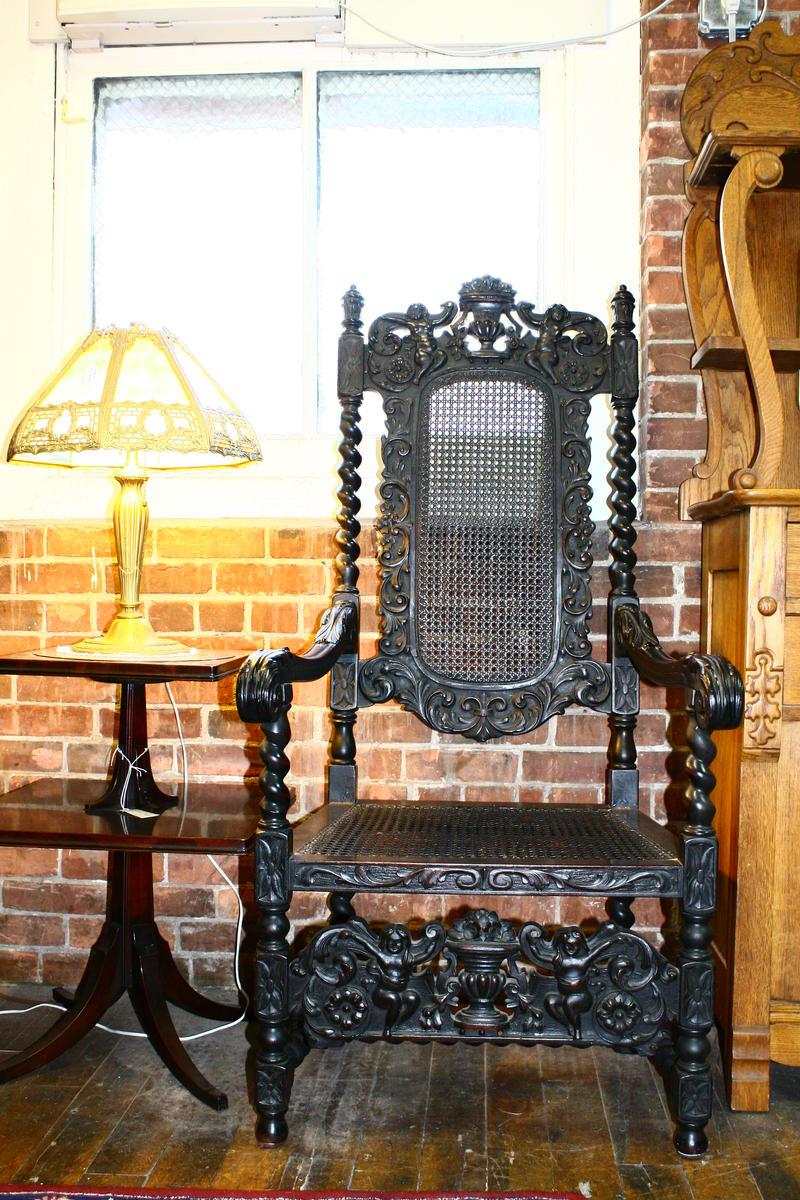 Stock Midevil Chair 3171