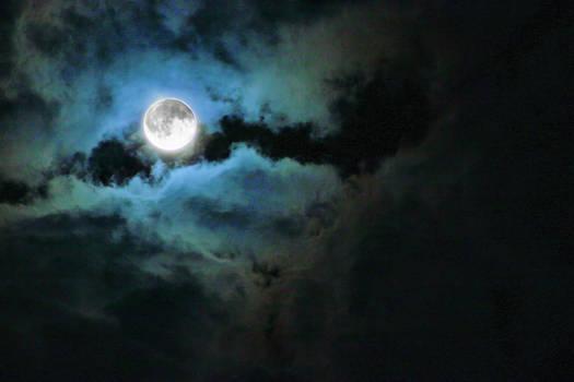 full moon stock