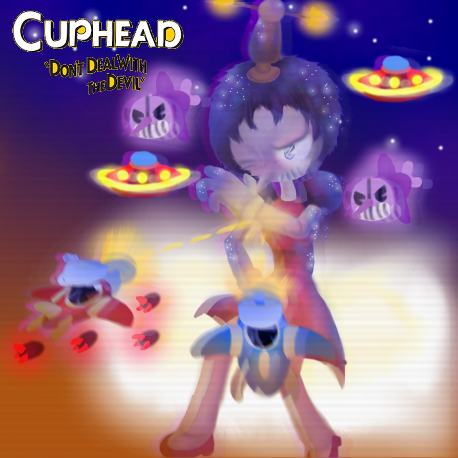THREATENIN ZEPPELIN ( cuphead )  by TheSkyFox03