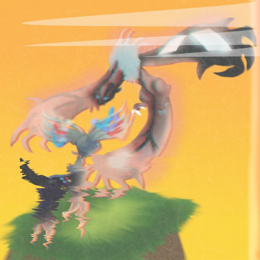 Xerneas and Yveltal ( Pokemon XYZ ) by TheSkyFox03