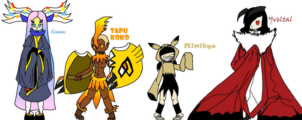 Pokemon stuff  by TheSkyFox03