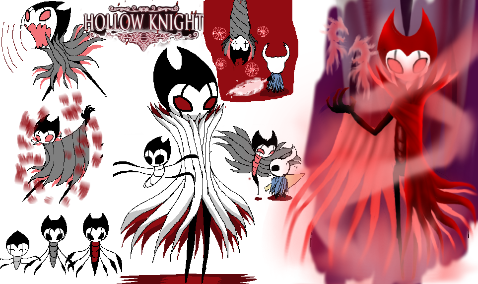 Grimm Troupe Ref. Sheet ( Hollow Knight )  by TheSkyFox03