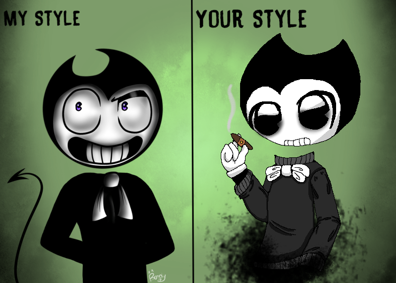 Bendy collab ( for bendyartist115 )  by TheSkyFox03