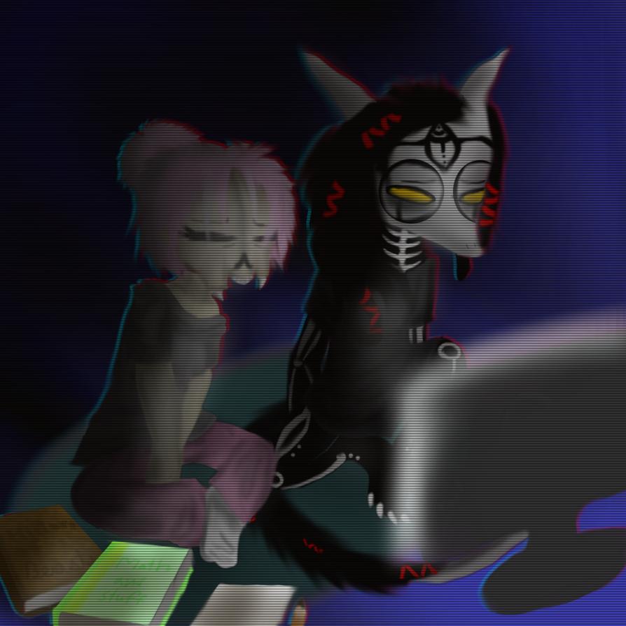 Midnight Study ( For Neytirix )  by TheSkyFox03