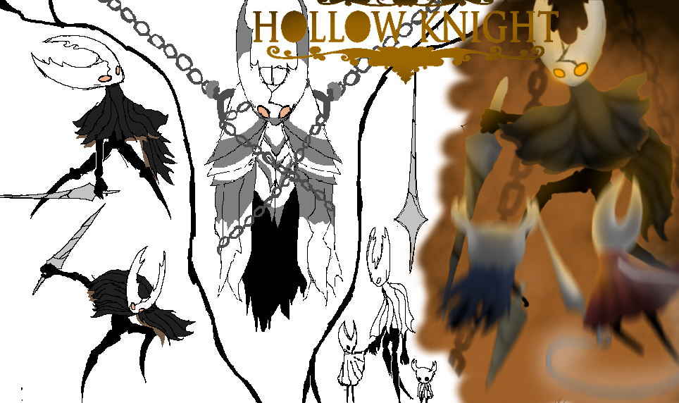 The Hollow Knight ref. sheet (hollow knight) by TheSkyFox03