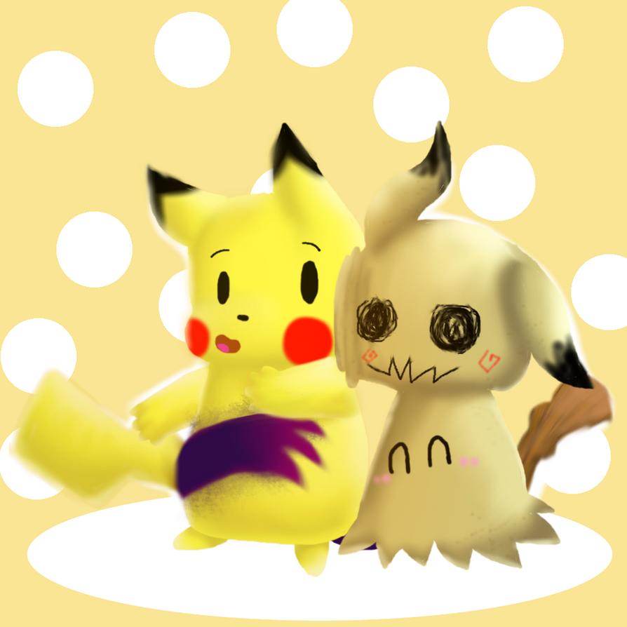 MIMICHU ^w^ (pokemon fanart) by TheSkyFox03