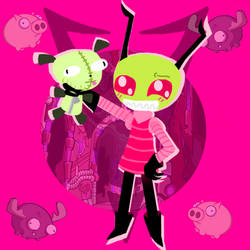 Look What Im Back With #4 (invader Zim)  by TheSkyFox03