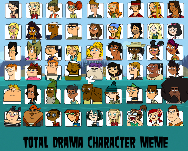 drama and character Characters on total drama pages in category characters the following 140 pages are in this category, out of 140 total.