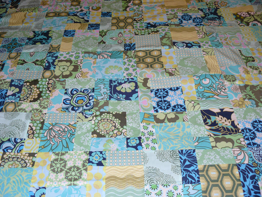 Disappearing Nine Patch Quilt By Baronessaginevra On