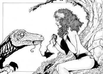 Savage Rogue by ThomasBlakeArtist