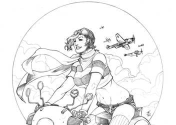 Patriot Girl II by ThomasBlakeArtist